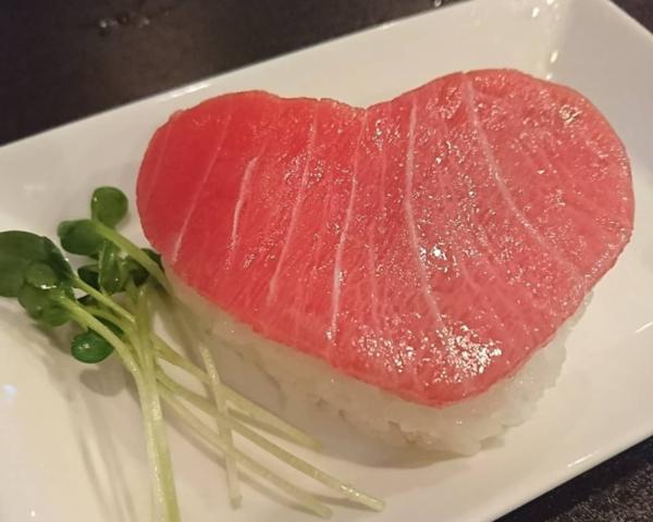 ハートの押し寿司サムネイル